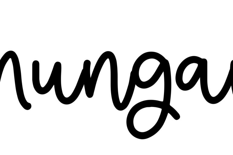 About the baby name Mungan, at Click Baby Names.com