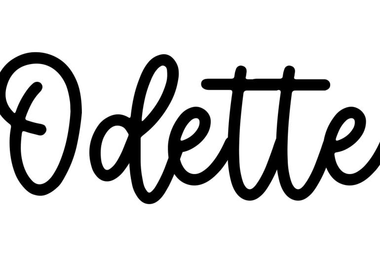 About the baby name Odette, at Click Baby Names.com