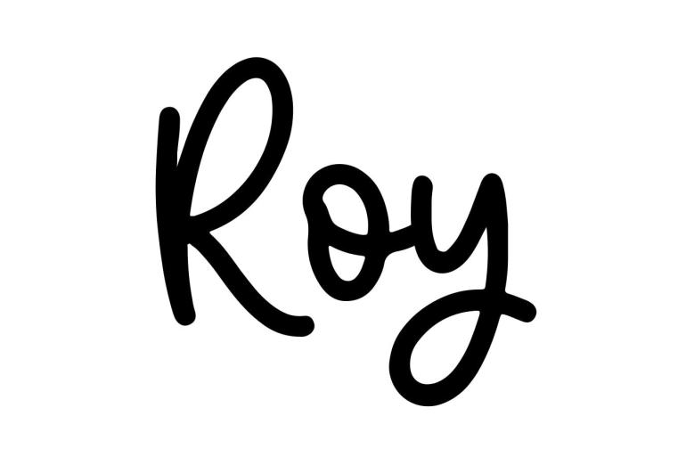About the baby name Roy, at Click Baby Names.com