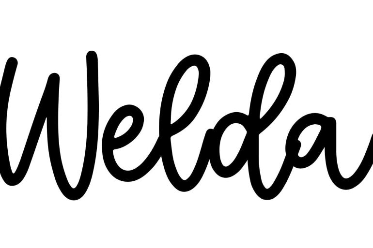 About the baby name Welda, at Click Baby Names.com
