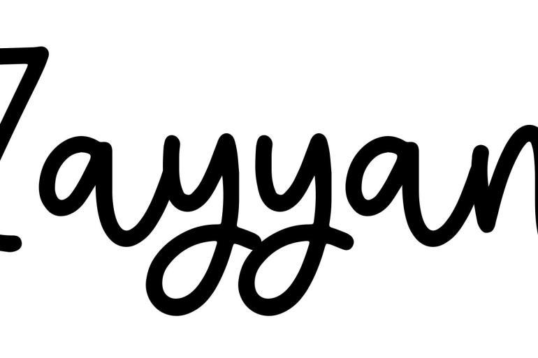 About the baby nameZayyan, at Click Baby Names.com
