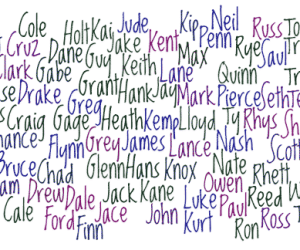 one syllable click baby names