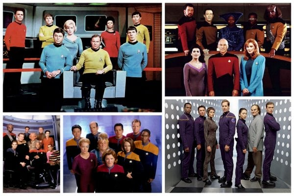 Star Trek baby names: All 5 series