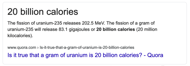 can you eat uranium