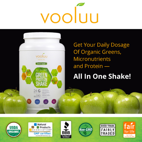 Vooluu - All In One Shake!