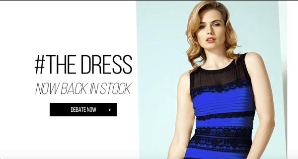 Chiếc váy gây tranh cãi đã bán được nhiều đơn hàng hơn rất nhiều bởi sức mạnh của mạng xã hội và ảnh hưởng từ người nổi tiếng.