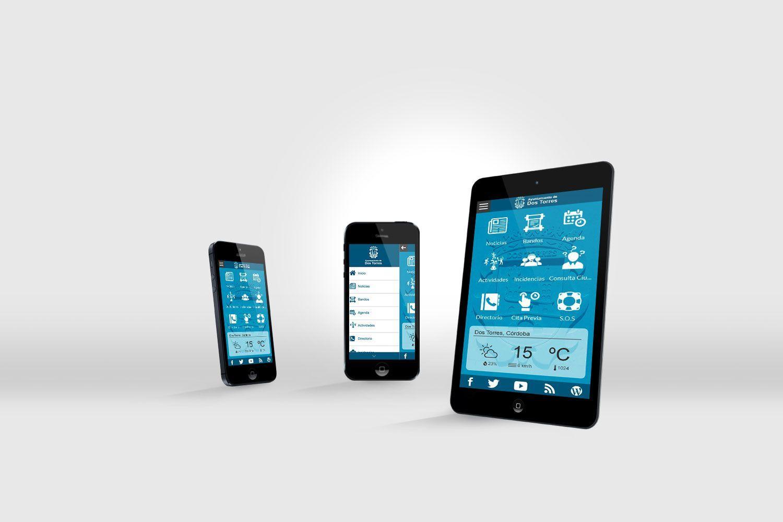 Click Town la Aplicación Móvil para el Ayuntamiento de Dos Torres