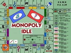 monopoly idle clicker games