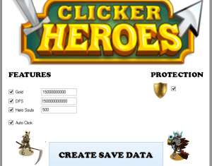 Clicker Heroes Import Data Cheats