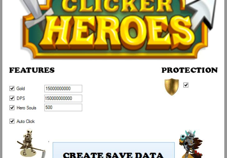 Clicker Heroes Import Data Cheats