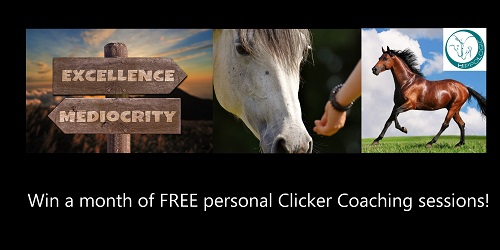 WIN a month of FREE Clicker Coaching