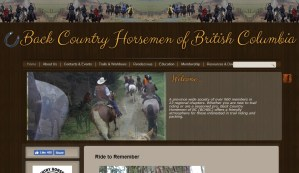 HippoLogic spoke at Back Country Horsemen of BC