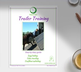 Trailer Training Shaping plan. A guide to trailer loading your horse