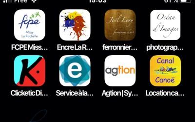 Ajouter un raccourci vers un site web sur un écran d'Iphone