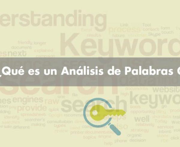 Análisis de Palabras Clave - Clickfocus