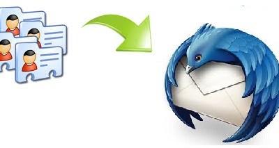 import multiple VCF files to Thunderbird