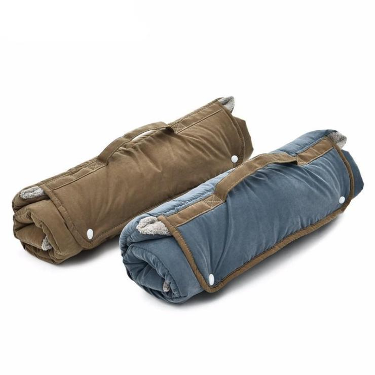 roll up travel dog bed