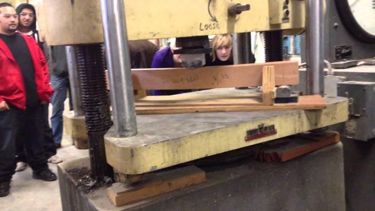 wood testing labs