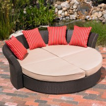 Mission Hills Corinth Daybed Indoor Outdoor Patio Lawn