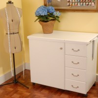 Arrow Marilyn Sewing Machine Storage Craft Table Desk ...