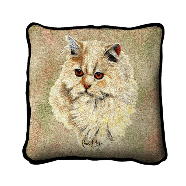 Pure Country Weavers Home Decorative Cream Persian Pillow