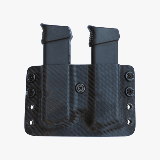 double magazine textured kydex holster
