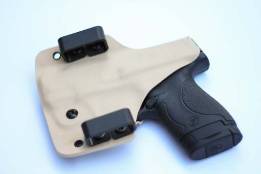 outside the waist band holster made by click holsters with belt loops