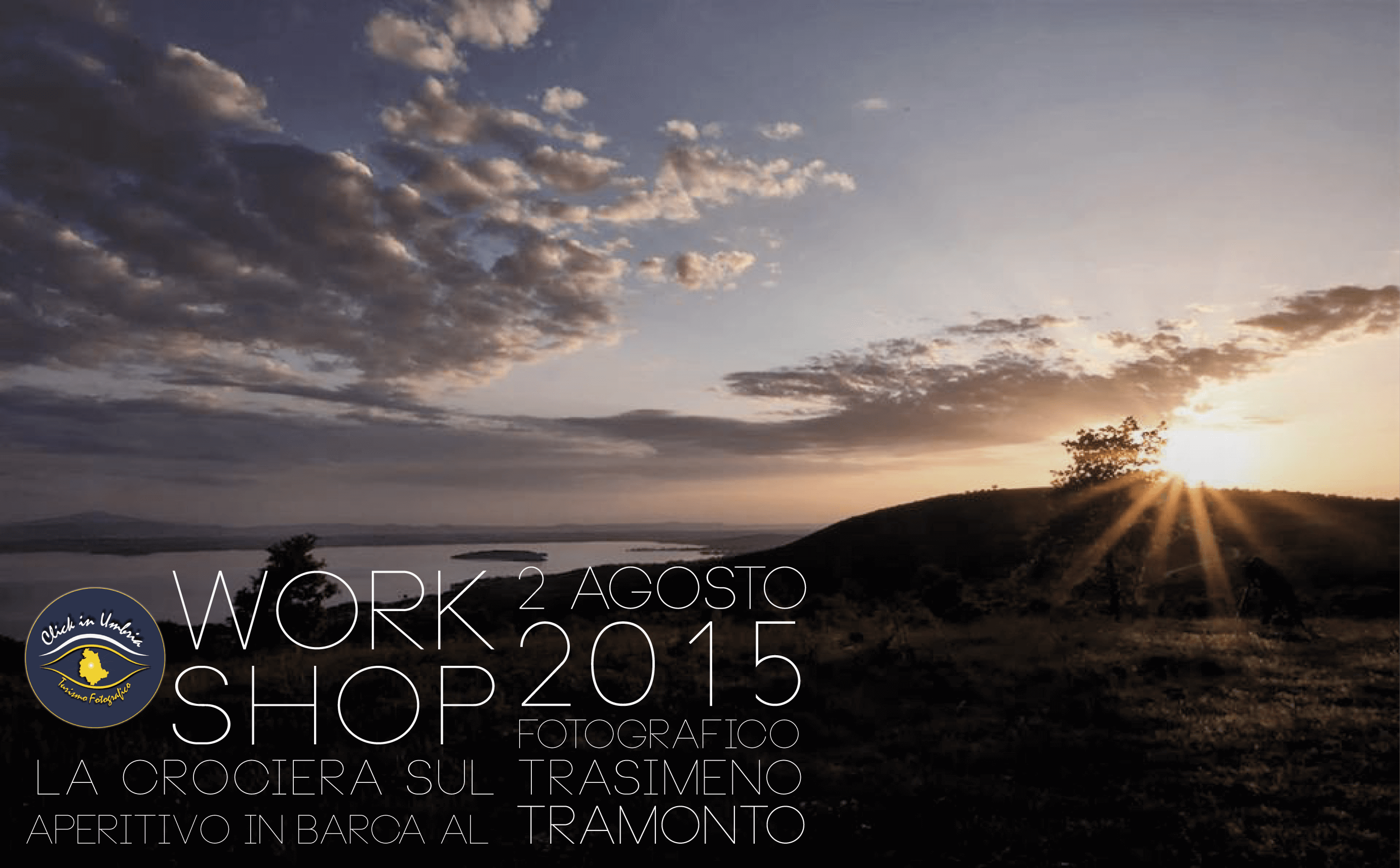 WORKSHOP FOTOGRAFICO IN CROCIERA SUL LAGO TRASIMENO
