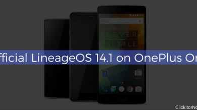 Official LineageOS 14.1 on OnePlus One