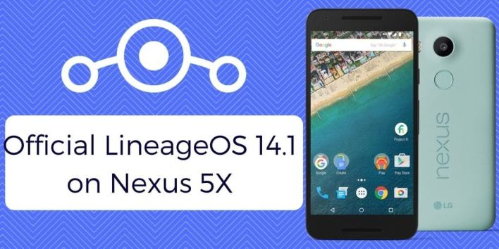 Official LineageOS 14.1 on Nexus 5X