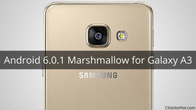 Android 6.0.1 Marshmallow on Galaxy A3