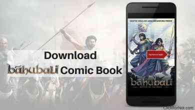 Download Baahubali Comic Book