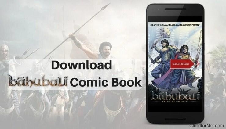 Download Baahubali Comic Book