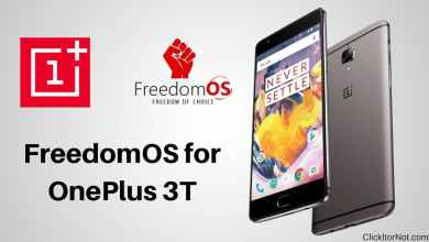 FreedomOS for OnePlus 3T