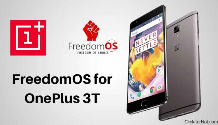 Freedom OS for OnePlus 3T