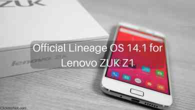 Official Lineage OS 14.1 for Lenovo ZUK Z1