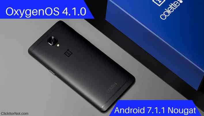 OxygenOS 4.1.0 (7.1.1) for OnePlus 3T