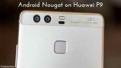 B387 Nougat on Huawei P9