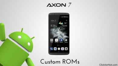 Custom ROMs for ZTE Axon 7