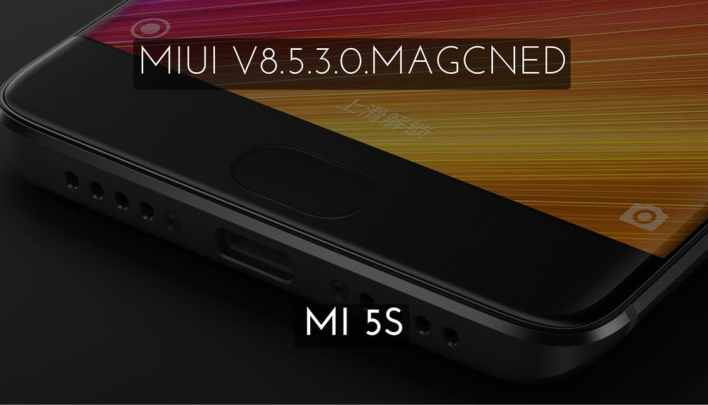 MIUI V8.5.3.0.MAGCNED