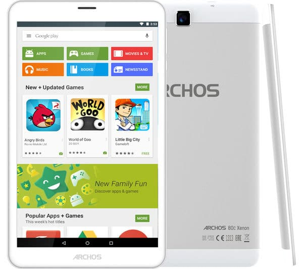 Install TWRP Recovery and Root Archos 80c Xenon