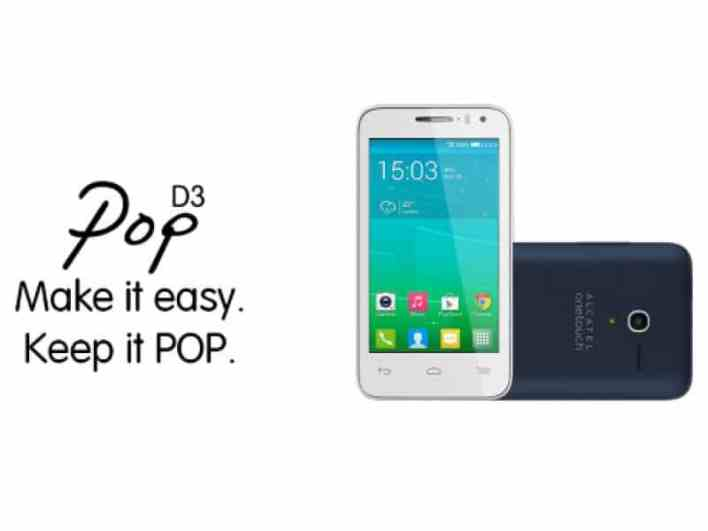 Install TWRP Recovery and Root Alcatel Pop D3