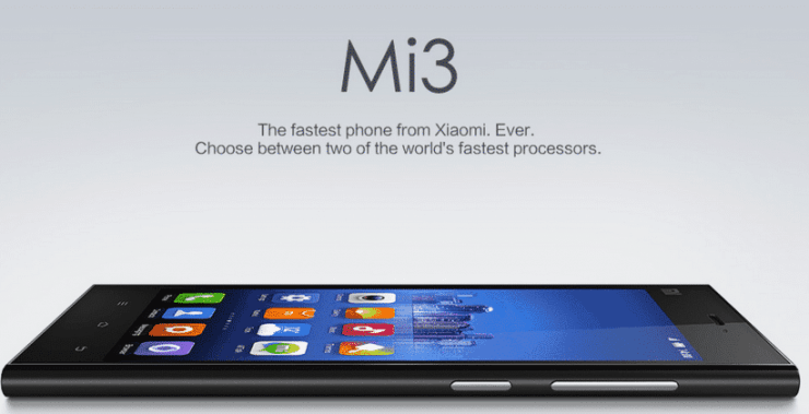 Unlock Bootloader of Mi 3