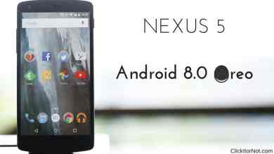 Android 8.0 Oreo on Nexus 5