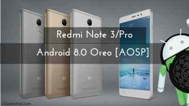 Android 8.0 Oreo on Redmi Note 3