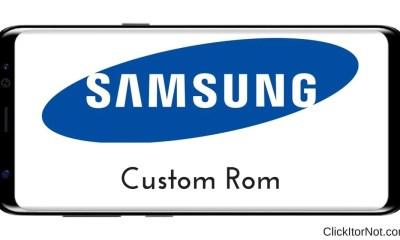 Custom ROM on Samsung