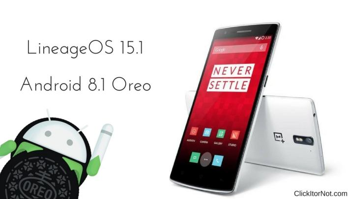 LineageOS 15.1 on OnePlus One