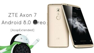 Android 8.1 Oreo on ZTE Axon 7