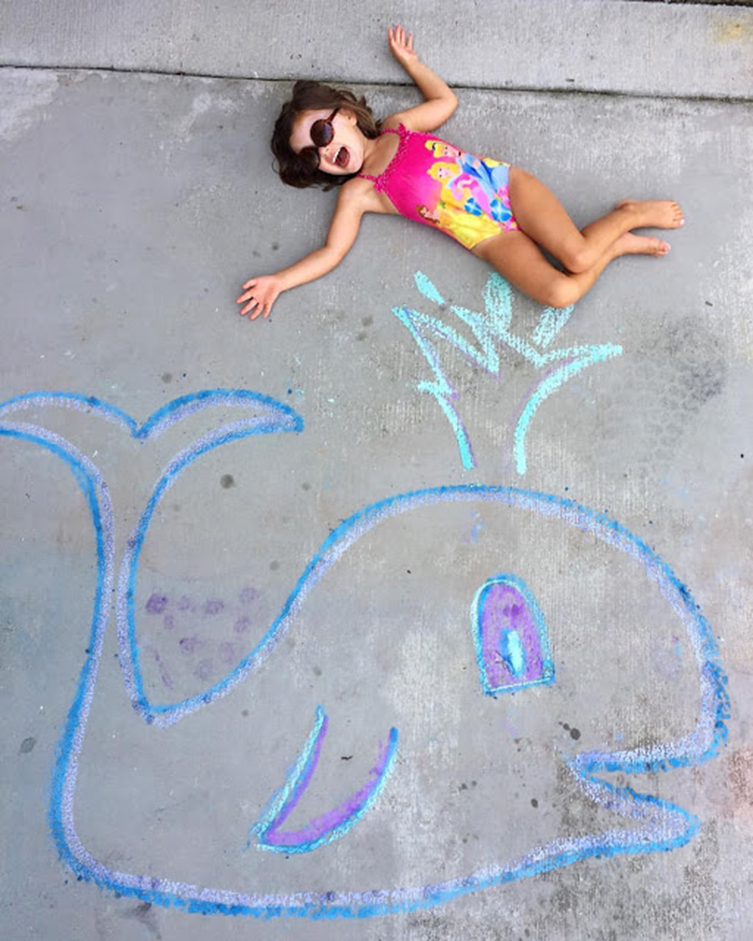 Things To Draw With Chalk Easy : things, chalk, Sidewalk, Chalk, Photgraphy, Click