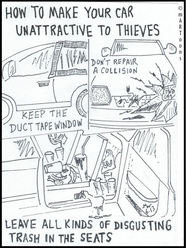 Best of September: MT#11 Anti Theft Car